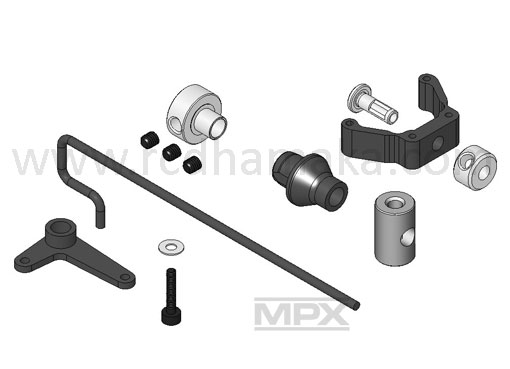 Tail Rotor Linkage Set