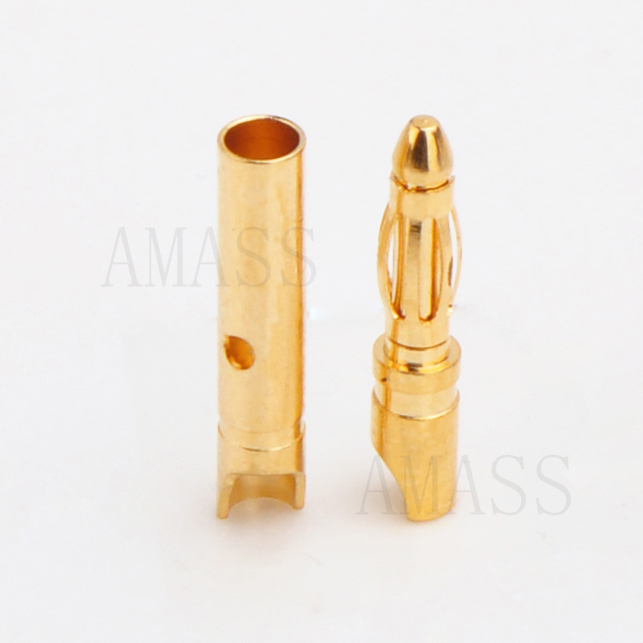 AMASS 100% ORIGINAL 2mm GOLD CONNECTOR