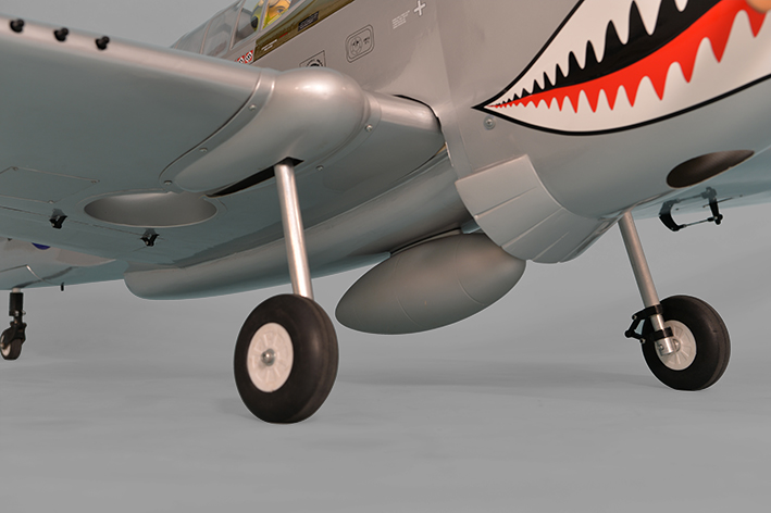 "Phoenix Model P-40 Warhawk 30-35cc Gas/EP ARF 80"" - 1:4 3/4 - Click Image to Close"