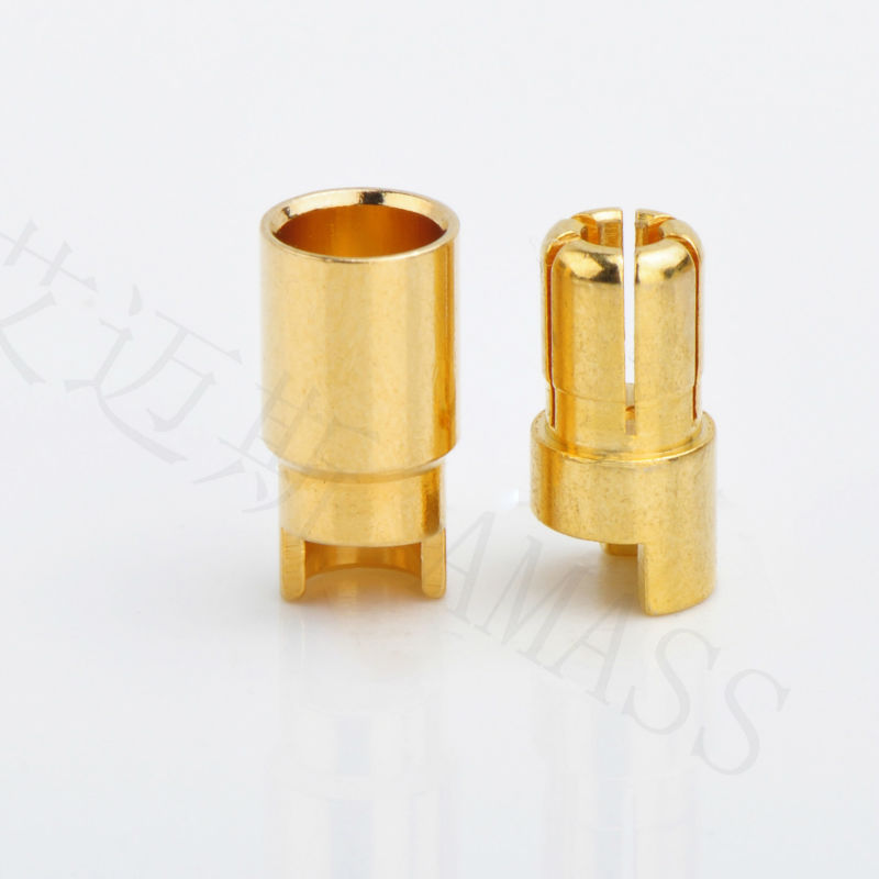 AMASS 100% ORIGINAL 6mm GOLD CONNECTOR