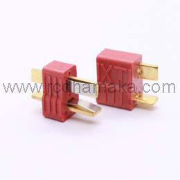 Deans Style Ultra Plug / T- Plug With Ribs (Pair)