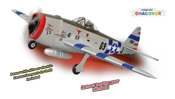 Phoenix P47 Thunderbolt .61~.91 / 15cc