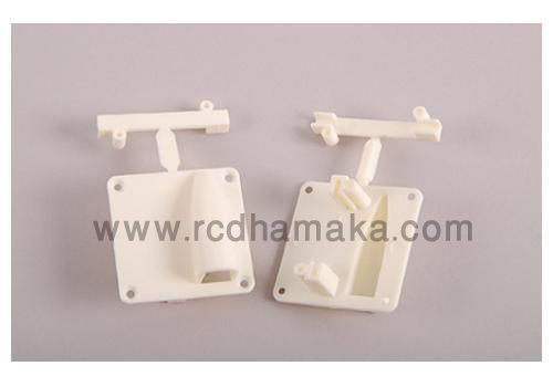 Servo Protectors for 36g-55g Servos - White (Pack of 2)