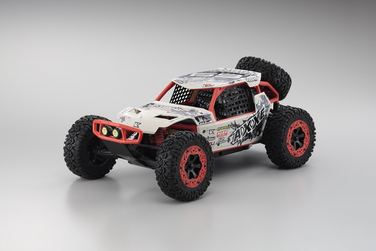 Kyosho AXXE 1/10 Scale Electric 2WD Buggy ReadySet (RTR) White
