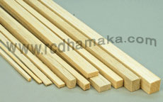 Balsa Strip 6mm x 6mm x 1000mm