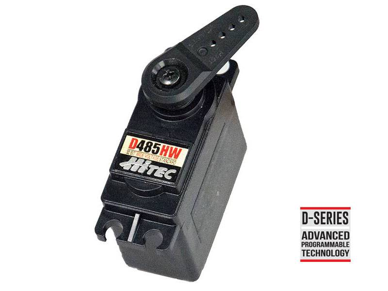 Hitec D-485HW 32-Bit Wide Voltage Carbonite Servo