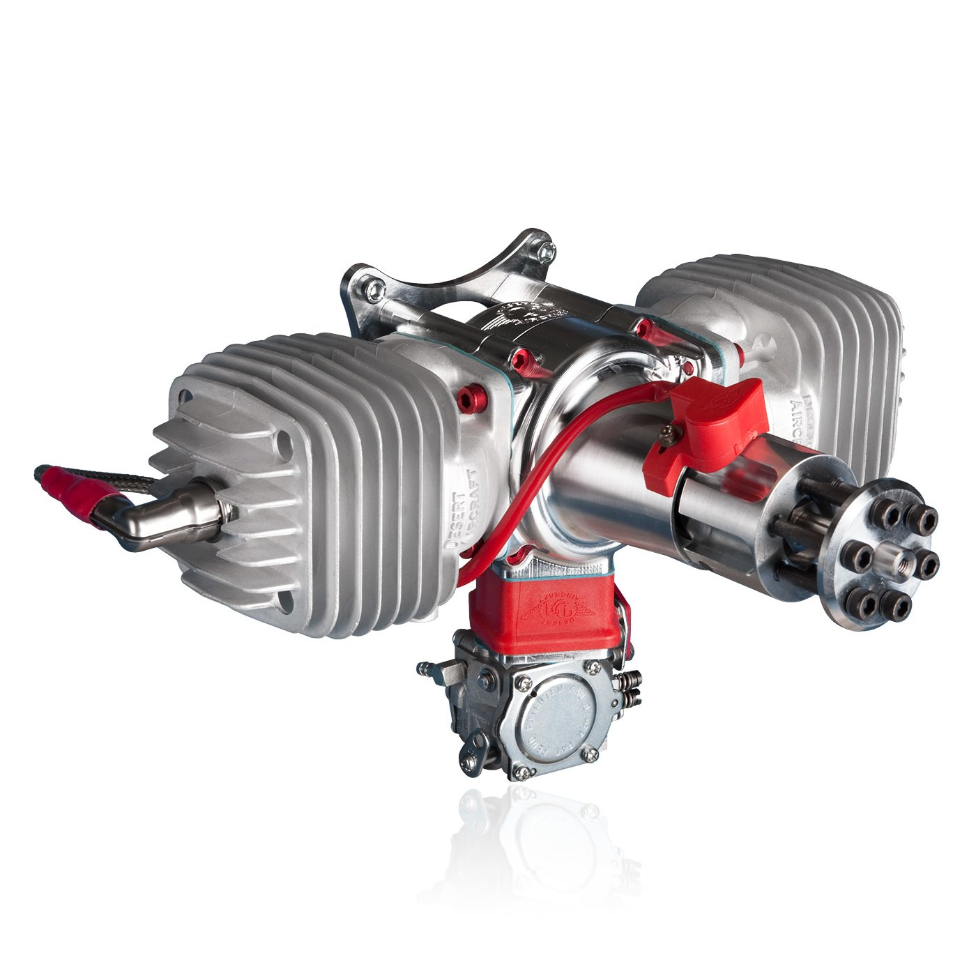 Desert Aircraft 120cc Twin Petrol Engine - DA-120