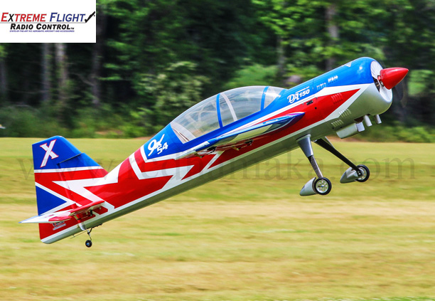 "Extreme Flight Yak 54 V2 110"" Red/White/Blue"