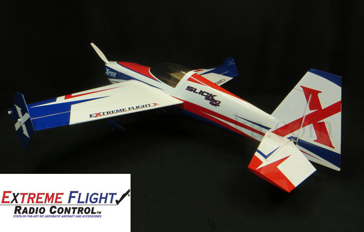 "Extreme Flight Slick 580 EXP 74"" Red/White/Blue"