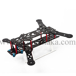 300 Quadcopter Frame Kit Pure Carbon Fiber