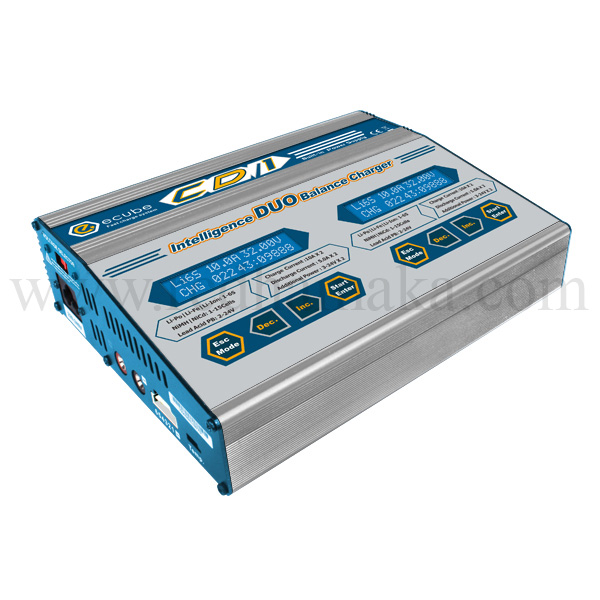 CD1 Duo AC/DC Balance Charger 2x100W 2x10A