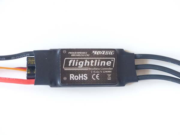 Flightline 40A ESC