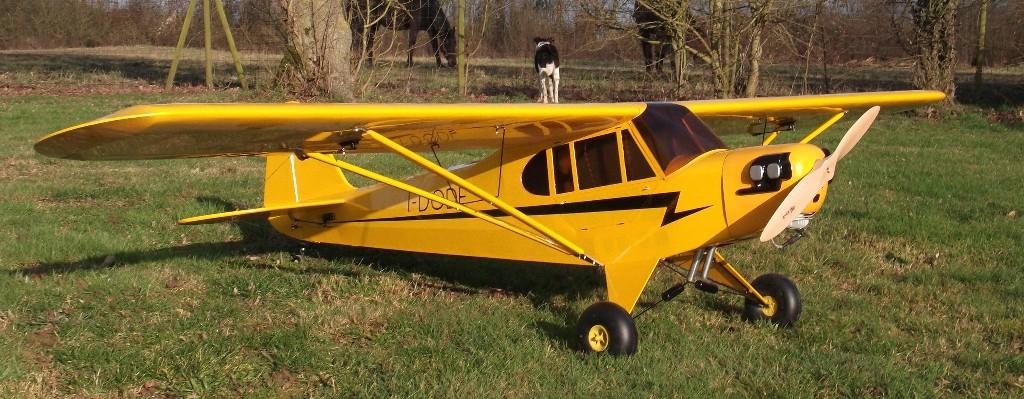 GW PIPER J3-50CC