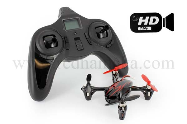 Hubsan X4 107C HD Camera RTF - Mode 2