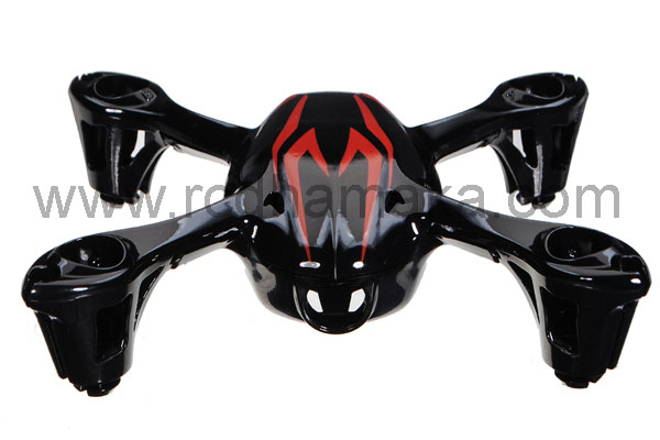 Hubsan X4 107C Camera Body Shell Black/Red