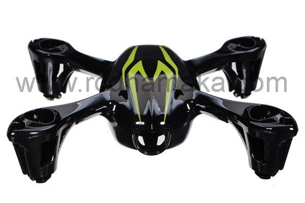 Hubsan X4 107C Camera Body Shell Black/Green