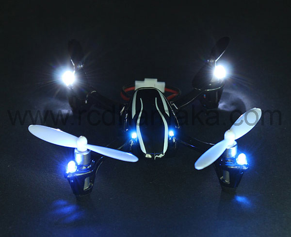 Hubsan X4 107+ LED RTF - Mode 2