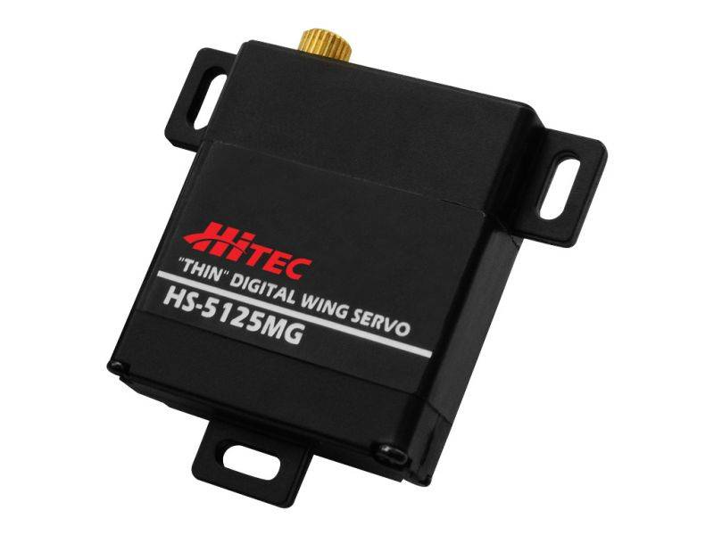 Hitec HS-5125MG Slim Metal Gear Wing Servo
