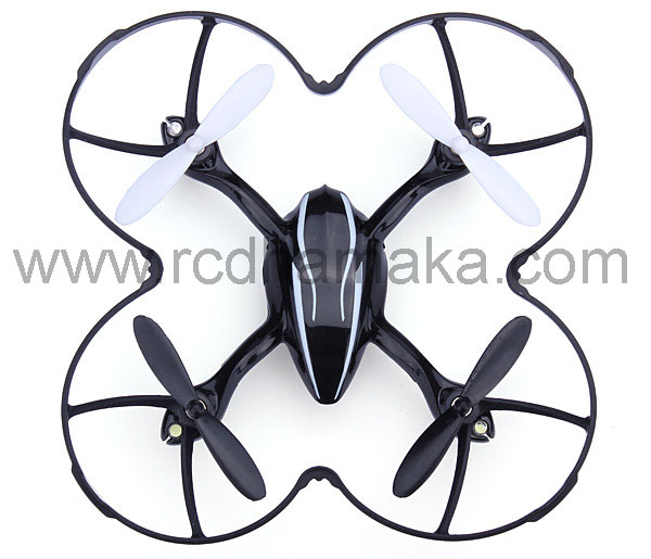 Protection Cover for Hubsan X4 107C / 107D Black