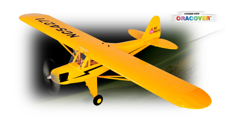 Phoenix J3 Piper Cub EP ARF