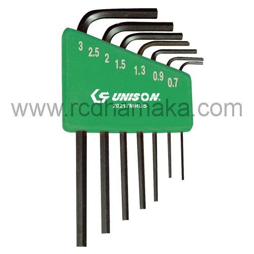 Mini Hex Key Set 7pcs