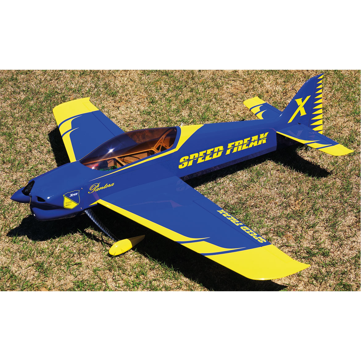 "Extreme Flight Pantera 52""- Yellow/Blue - ARF"