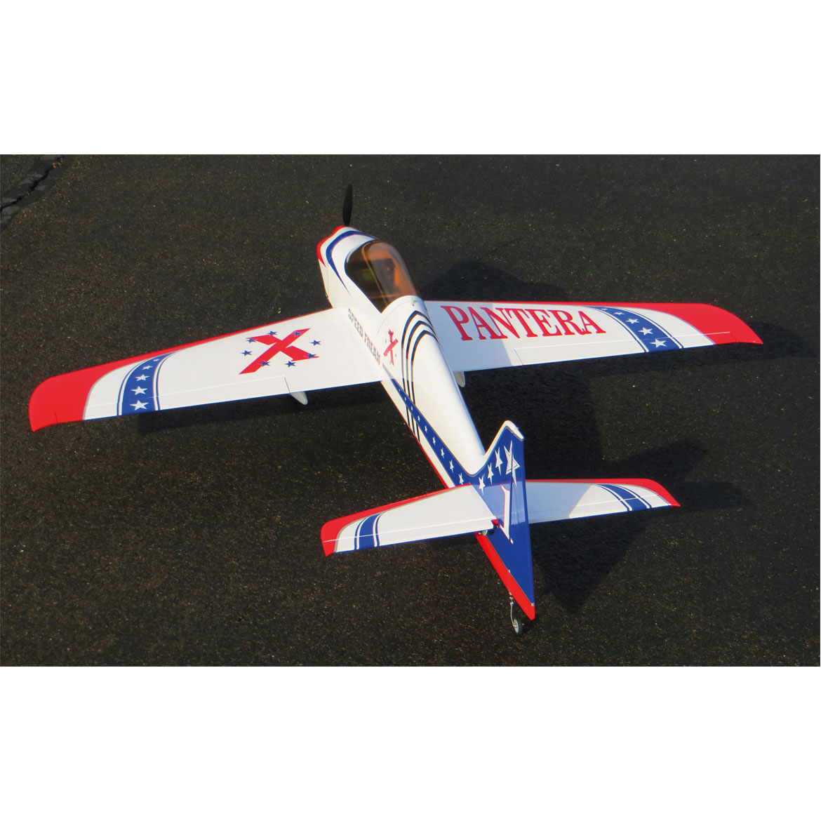 "Extreme Flight Pantera 52""- Red/White - ARF"