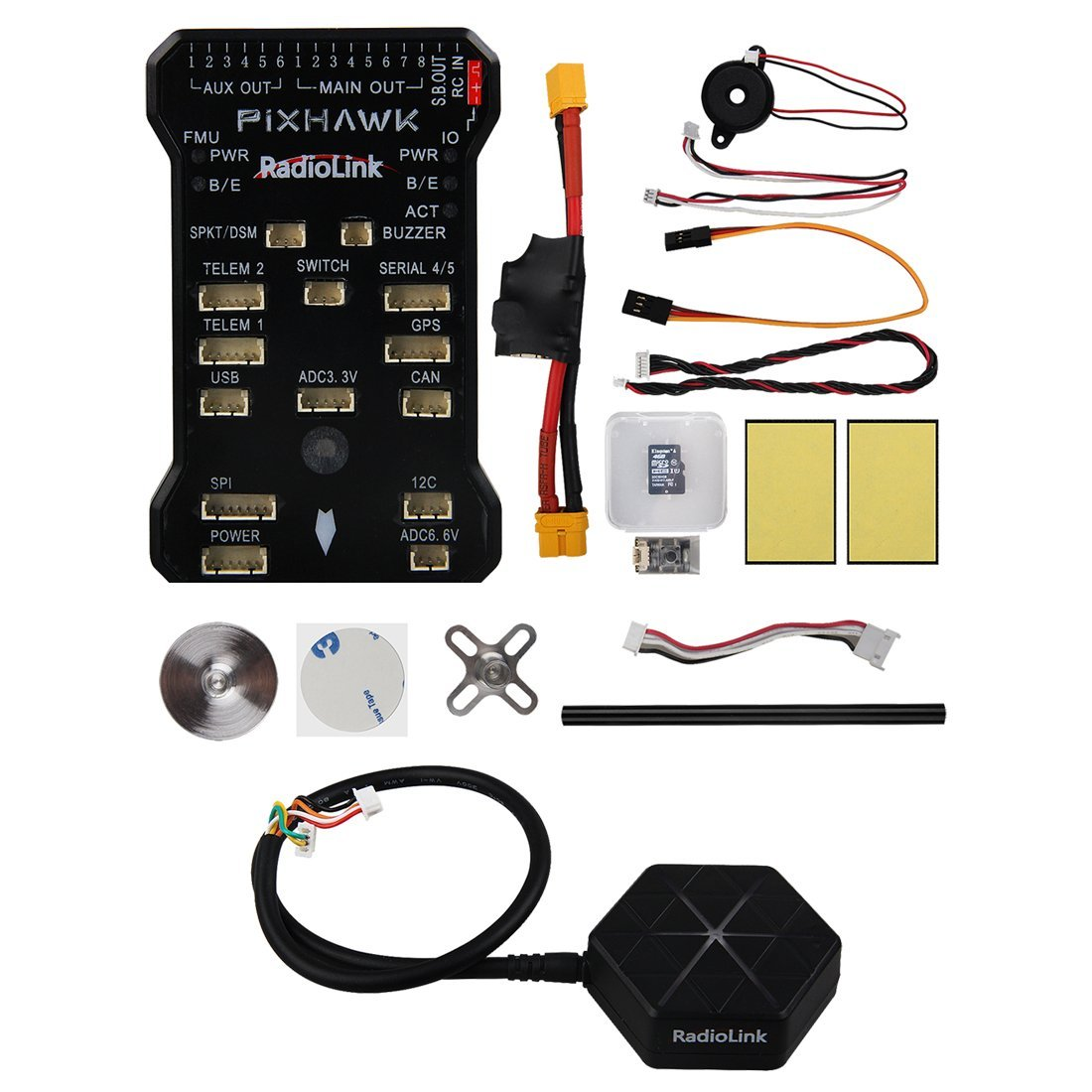Radiolink Pixhawk 32 Bit ARM Flight Controller + NEO-M8N GPS