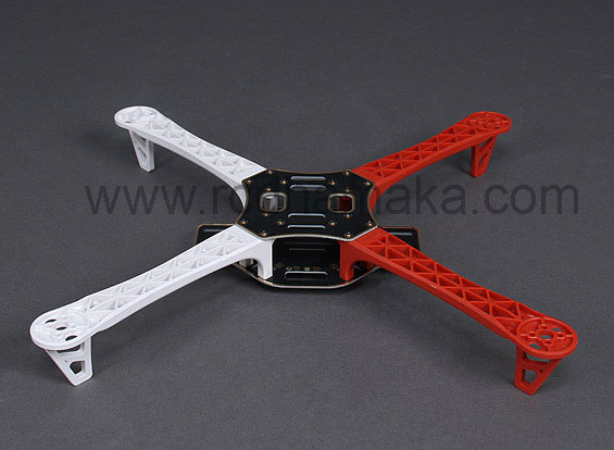 QC450 Quadcopter Frame V2  - Integrated PCB Version