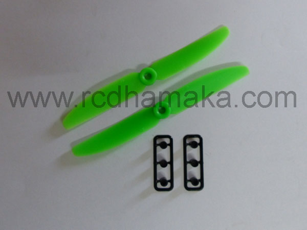 Quadcopter Propeller 5x3 Pair Green