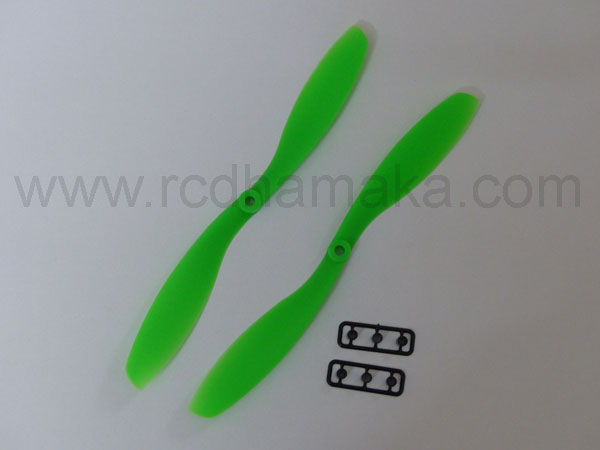 Quadcopter Propeller 8x4.5SF Pair Green