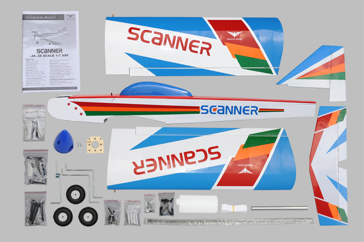 Phoenix Scanner .46~.55 Low Wing Trainer - Click Image to Close