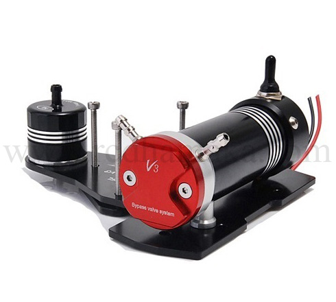 Secraft SE Fuel Pump System V3 with filter - Black