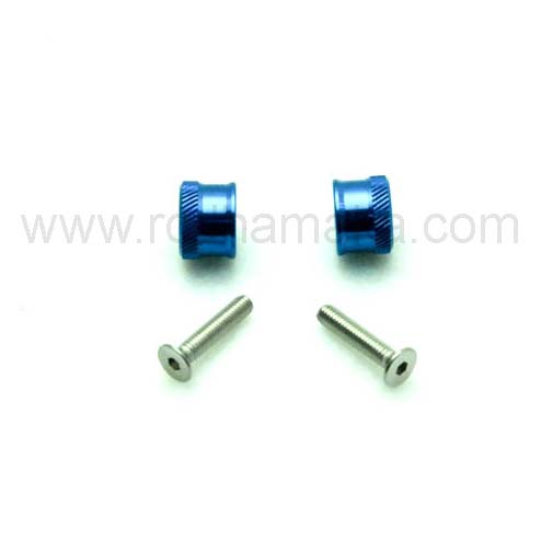 Secraft Wing Bolts M4 Blue