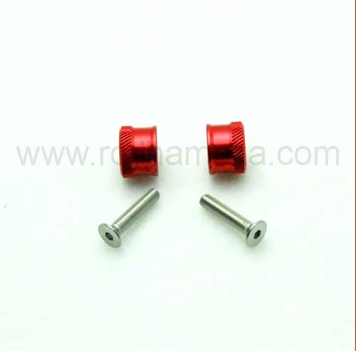 Secraft Wing Bolts M4 Red