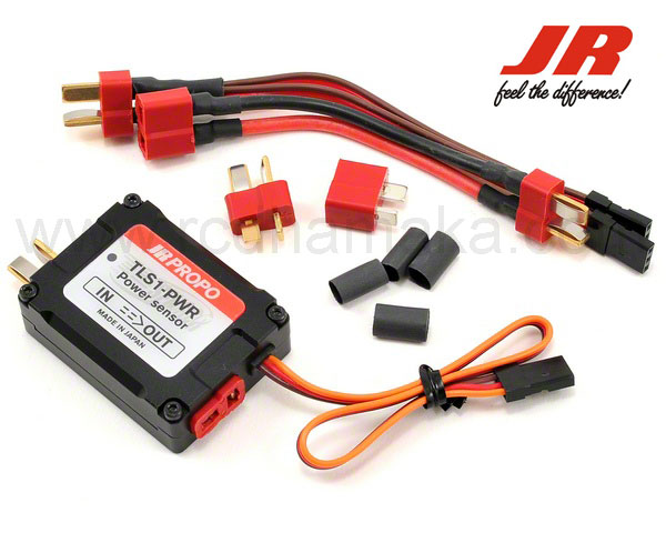 JR TLS1-PWR Telemetry Power Sensor for XG Series