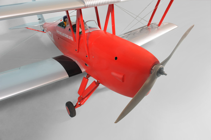 "Phoenix Model Tiger Moth Gas/EP Size 30-35CC ARF 89"" -1:6 1/4"