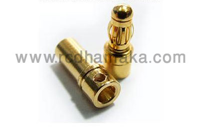 3.5mm Gold Connector (Pair)