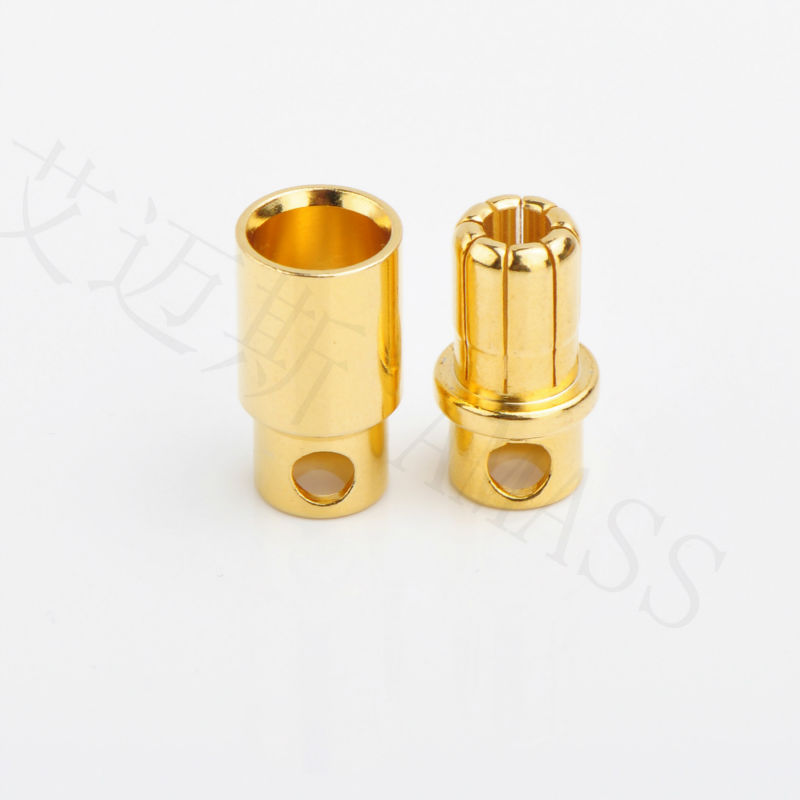 AMASS 100% ORIGINAL 8mm GOLD CONNECTOR