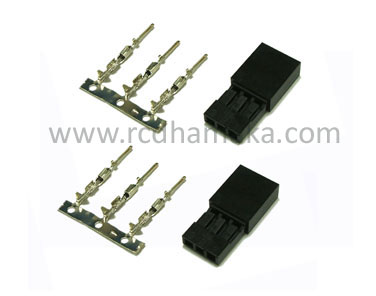 JR SERVO SOCKET MALE AND FEMALE (Pack of 10)
