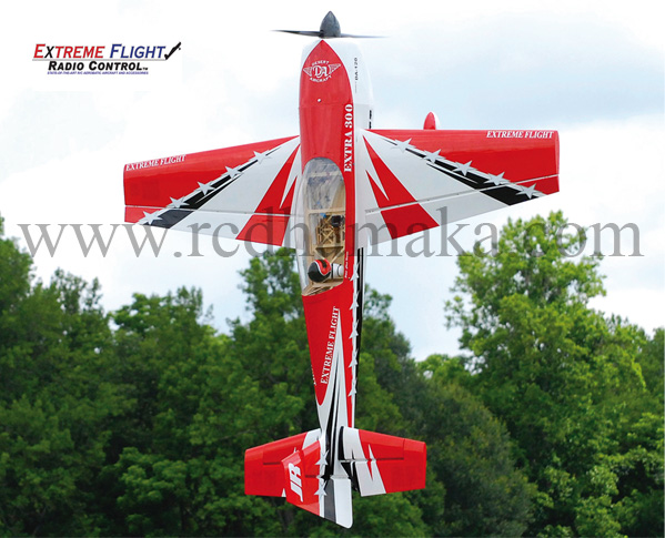 "Extreme Flight Extra 300 104"" - Red"