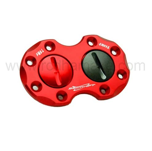 Secraft V2 Double Fuel Dot Red